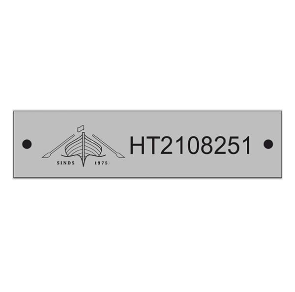 RVS-HT-registratieplaatje